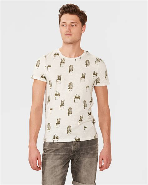 Cactus Print Shirt heren cactus print t shirt 79869676 we fashion