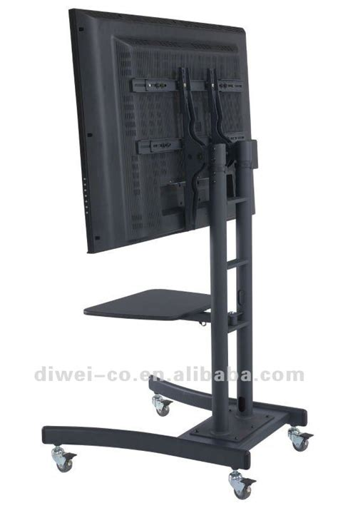 mobile tv stand mobile tv stand for heavy tv for tv from 32 quot 100 quot lcd tv stands buy tv stands diy tv stand