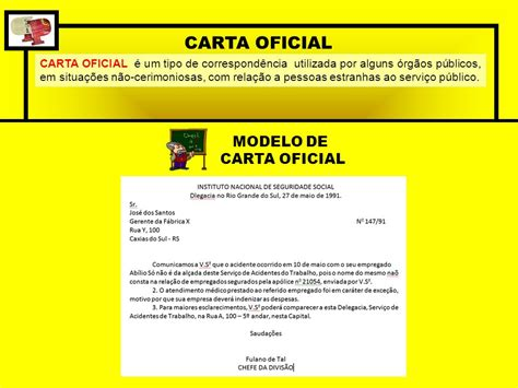 carta oficial modelo de carta circular modelo cartacom portugu 202 s instrumental cap 205 tulo 7 circular e
