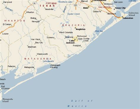 map of texas gulf coast region best texas beaches map my