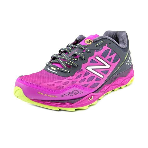 womens purple athletic shoes new balance new balance wt1210 fabric purple running