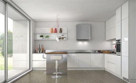 cucine per cer cuisine blanche contemporaine en 75 jolies photos