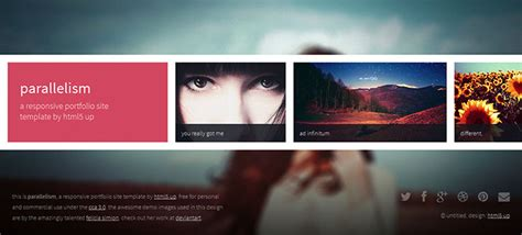 15 Creative & Beautiful Grid HTML Website Templates   Web