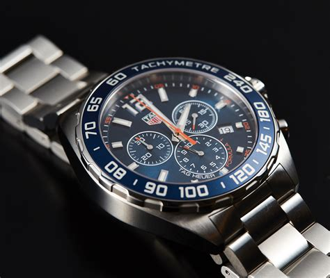 In Depth Review  2016 TAG Heuer Formula 1 Blue Dial   The Home of TAG Heuer Collectors