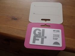 Meadowhall Gift Cards - misc lots zi fundraiser