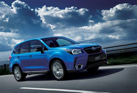 subaru japanese subaru releases sti enhanced forester ts in japan