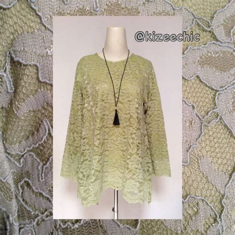 Serut Asimetris Blouse 34 best images about lace brokat on fashion gowns and muslim wedding dresses