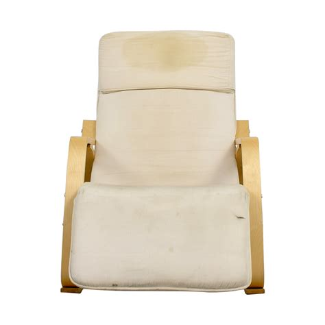 recliner rocking chair 84 off white rocking chair with recliner chairs