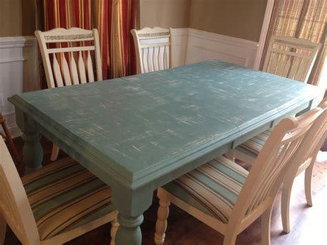 Chalk Paint Kitchen Table by Kitchen Table Redo Sloan Chalk Paint For Our New