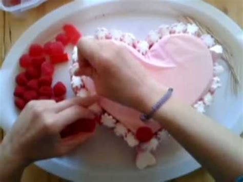 decorar tartas san valentin tarta de gominolas san valent 237 n quot tutorial quot youtube