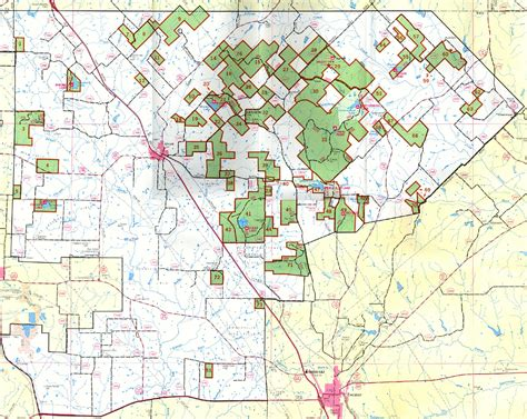 texas national forest map lyndon b johnson national grassland texas national forests and grasslands