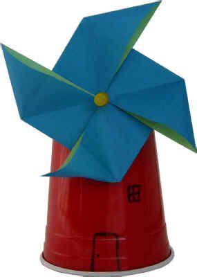 making origami windmill wind craft for science week creative ideas pinterest