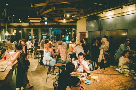 bar len len 京都河原町 hostel cafe bar dining