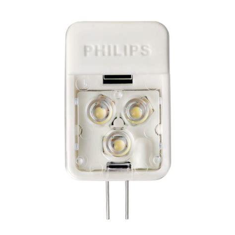 Sale Lu Led Philips 3 Watt philips 418392 3 watt 20 watt accentled t3 desk and cabinet g4 base 12 volt li