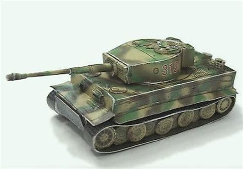 Papercraft Tanks - tiger i papercraft tank papercraft paradise