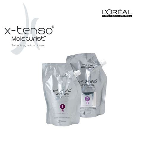 Loreal X Tenso l or 233 al x tenso quot r quot creme alisante m 233 dio kit 2x400g salonet