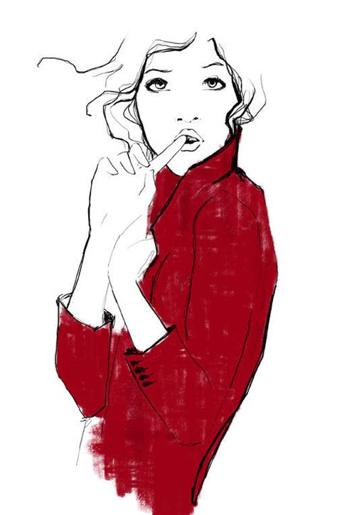 Gorgeous Fashion Illustrations by Gorgeous Illustrations By Garance Dor 233 12 Total My