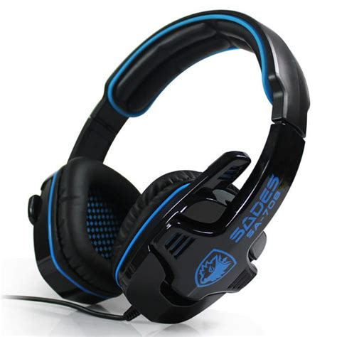 Headset Gaming Sades Sa 708 sades sa 708 2