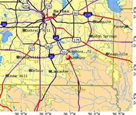 hutchins map hutchins tx 75172 profile population maps real