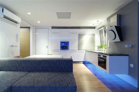 design your apartment modern apartment design with led lighting home design