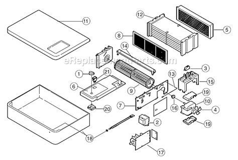 oreck 447880 parts list and diagram ereplacementparts