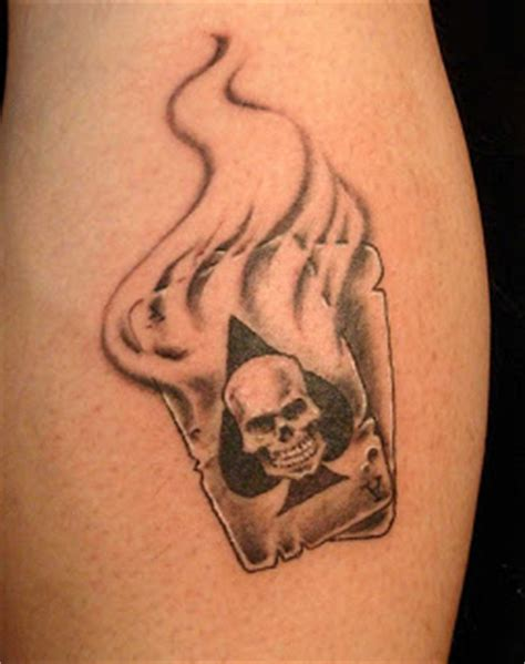 tatto playing cards tattoo designs photos