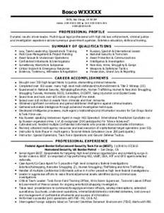 criminal justice resume exles government resumes