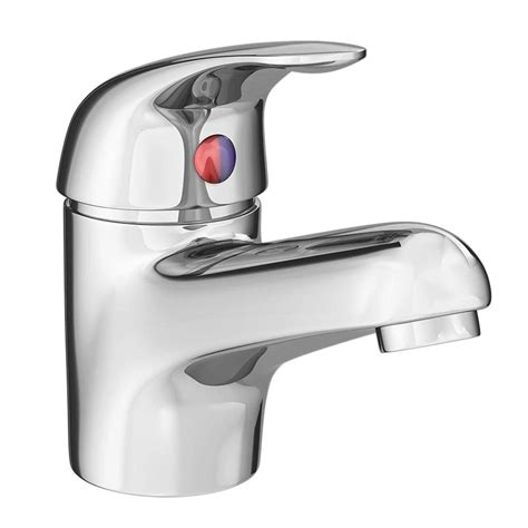 single bathroom taps modern single lever basin tap with waste chrome dty305