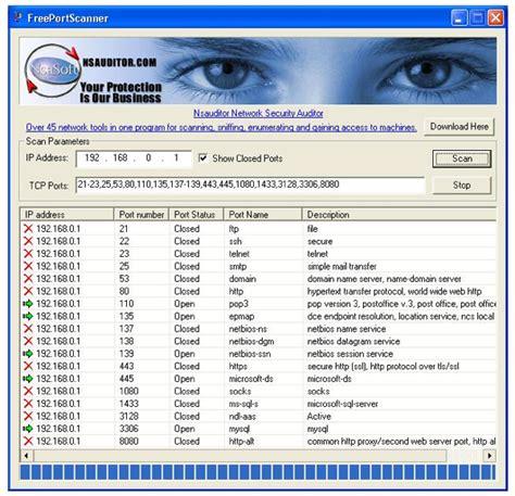 pc port scanner free port scanner scan pc ports for information pcs place