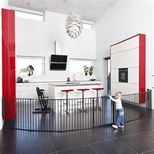 Nursery Room Divider Babydan Baby And Child Room Divider Safety Gate Fits 90 360cm Black Ebay