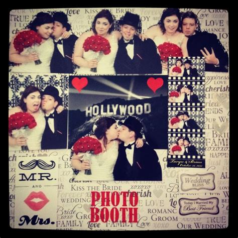 hollywood photo booth layout hollywood wedding themed photobooth scrapbook photo