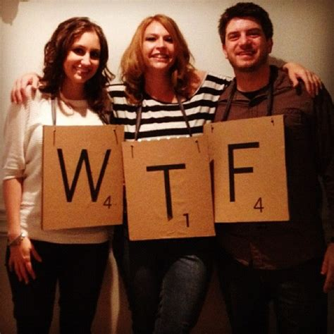 Scrabble Costumes And