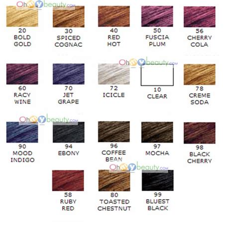 jazzing hair color jazzing hair color chart httphaircolorchartnowcomhair dye