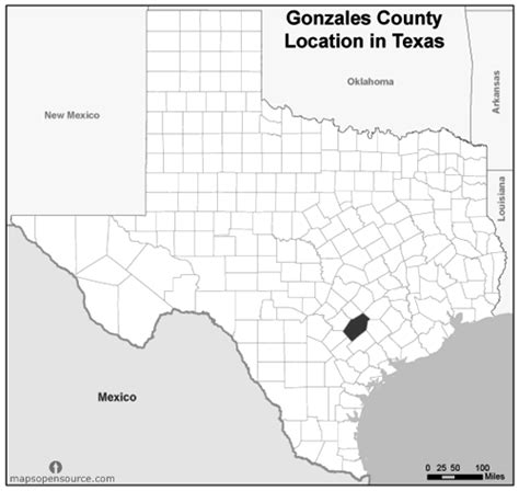 gonzales county map free and open source location map of gonzales county