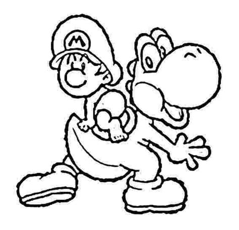 coloring pages baby mario baby mario coloring pages to print asoboo info