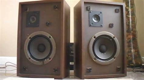 the advent 3 bookshelf stereo speakers