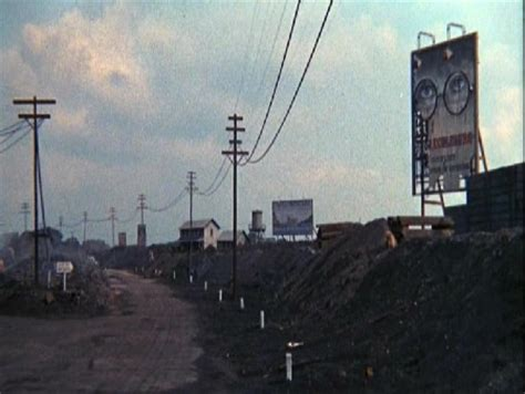 billboard symbolism in the great gatsby this is what the valley of ashes might look like in the