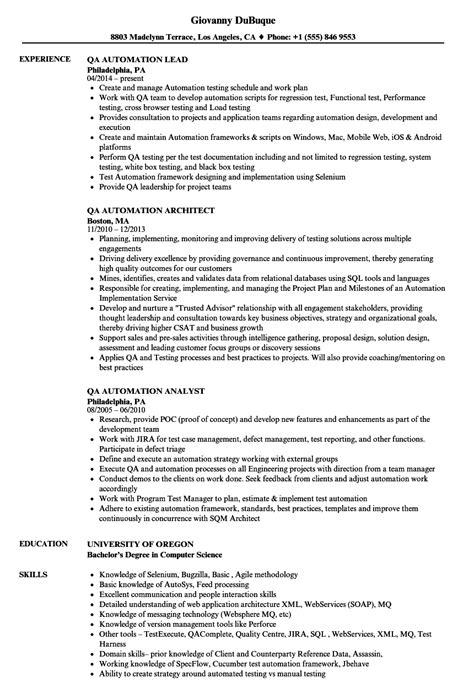 Famous Qa Sle Resume With Selenium Images Model Resume Template Duanheavenriverview Info Selenium Automation Estimation Template