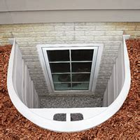 basement window well systems bilco stakwel 174 window modular system of code