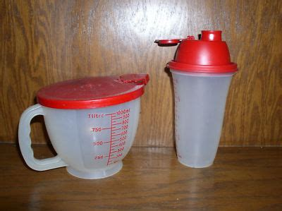 Blender Manual Tupperware tupperware 4 cup measuring w lid blender euc wfr1956