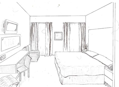 bedroom perspective drawing cool cartoon background youtube how easy bedroom drawing