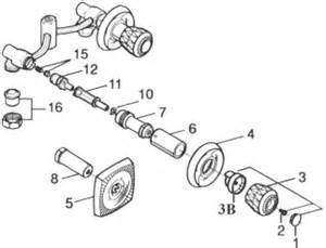 valley shower valve parts