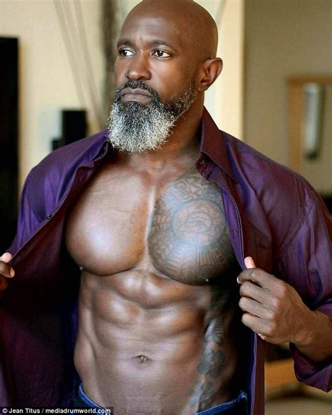 what a 50 year old dad should be wearing gq jean titus 50 has a better body than you daily mail online