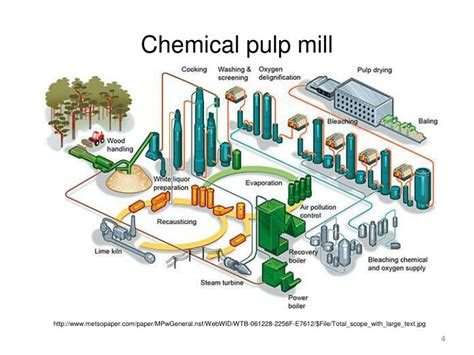 Paper Pulp Process - ppt wood 120 pulp and paper powerpoint presentation id