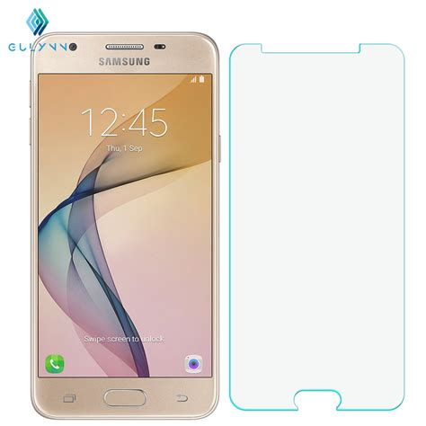 Tempered Glass Samsung J5 2016 Duos J510 J510 G Anti Gores Kaca gulynn tempered glass for samsung galaxy j1 j3 j5 j7 j120 j320 2016 j510 j710 s3 s4 s5 s6 s7