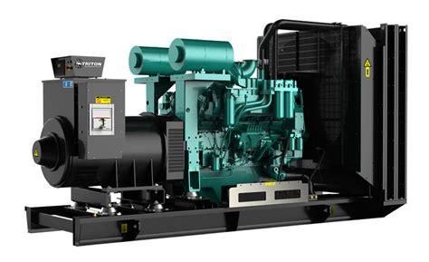 900 kw cummins diesel generator 900kw triton generator