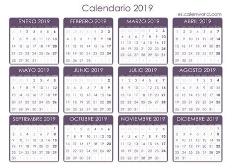 Calendario 2019 Argentina Calendario 2019 Para Imprimir Almanaque 2019 Para Imprimir
