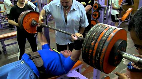 best bench press ever eduardo alcaraz 280 kg fuerza en banco gimnasio dimaro