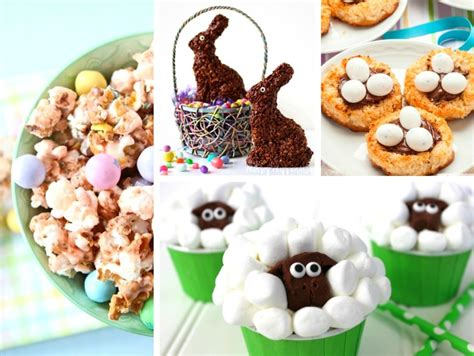 20 easy and delicious easter treats will