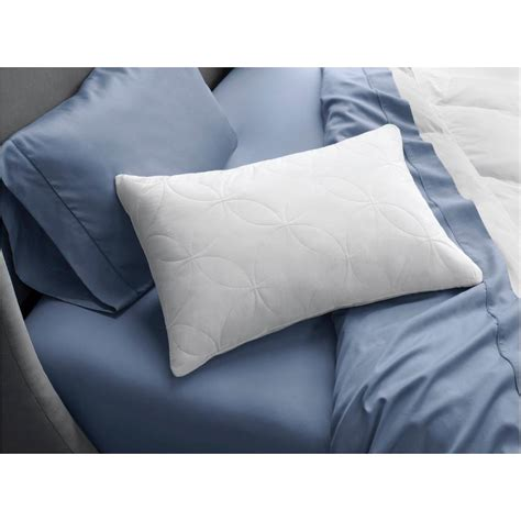 order of pillows on bed tempur pedic cloud soft and lofty king foam bed pillow